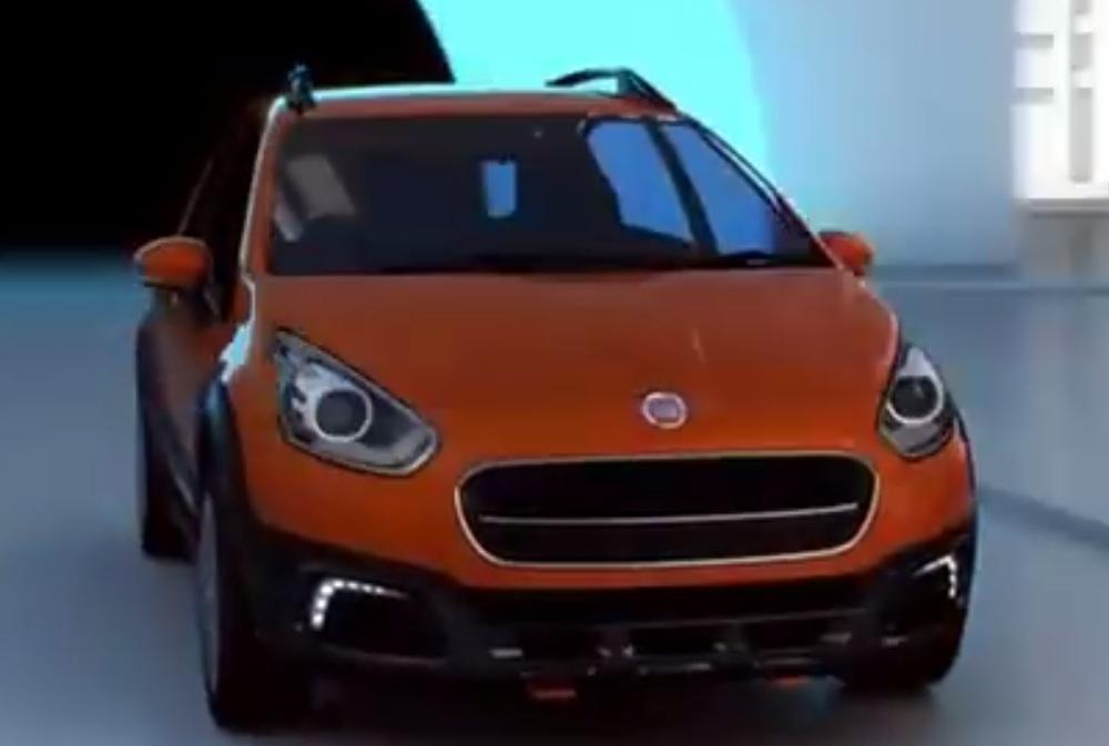Fiat Avventura teaser video