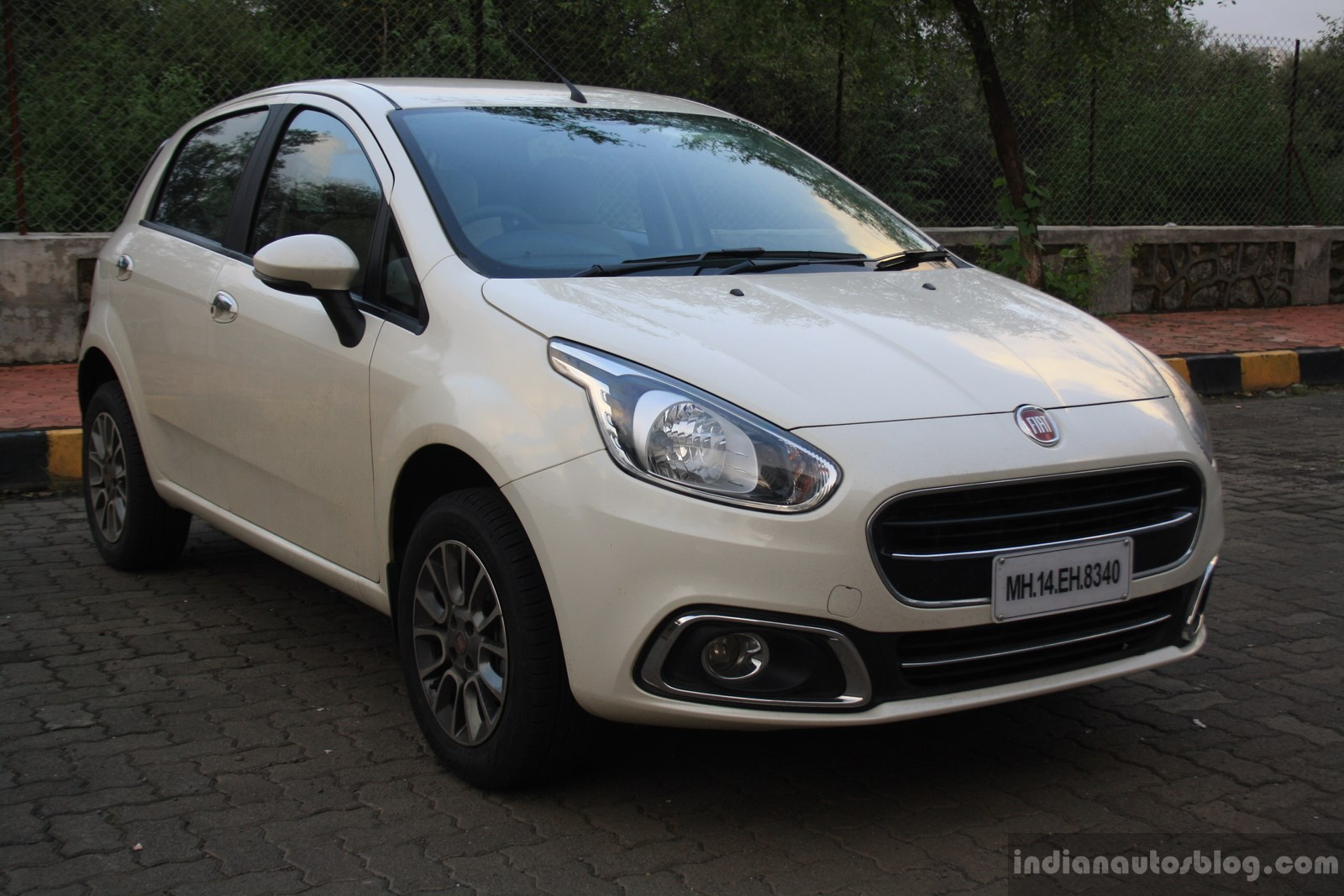 Fiat Punto Evo 1.4-litre Fire petrol review front three quarter