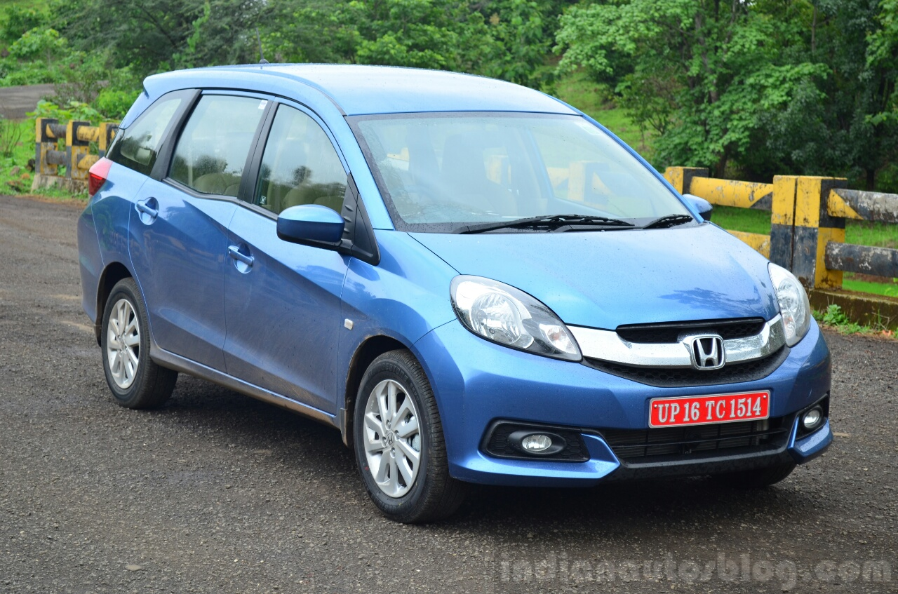 Honda Mobilio Launched At Inr 6 49 Lakhs
