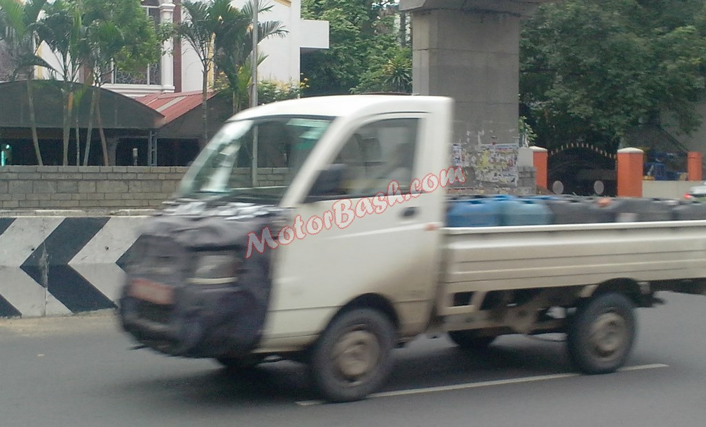 Mahindra Maxximo Plus facelift spied