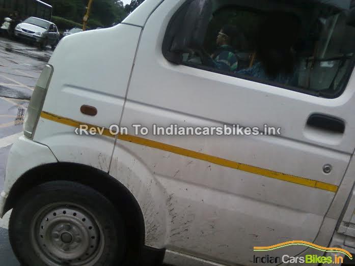Maruti Suzuki Carry spied in India cabin