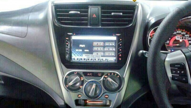 Perodua Axia small car spied interior