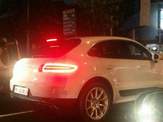Porsche Macan S diesel spied in India