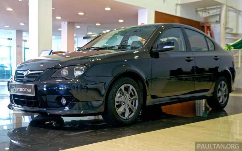 Proton Saga Persona Executive Malaysia front three quarter
