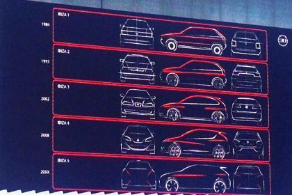 SEAT Ibiza 2016 teaser sketch