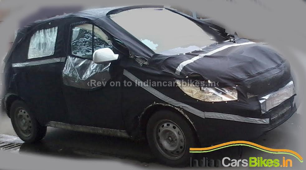 Tata Kite snapped front quarter