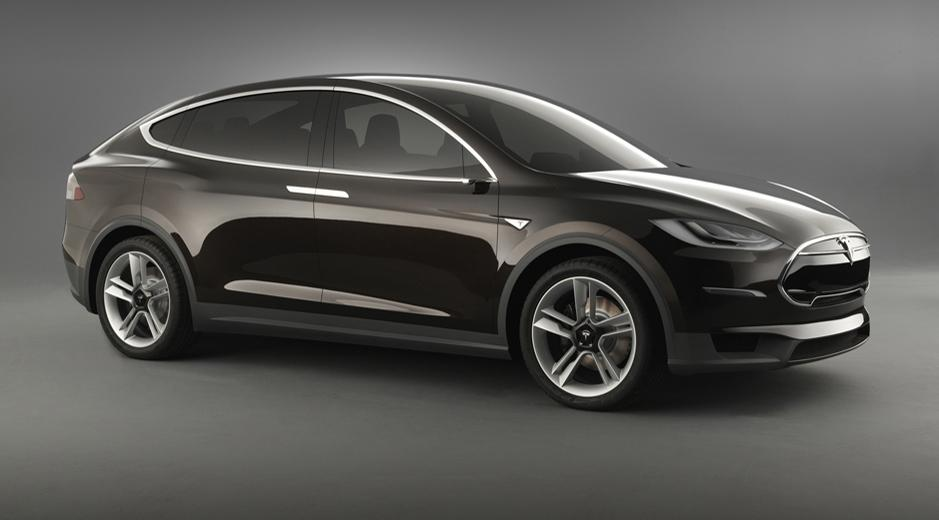 Tesla Model X side official image
