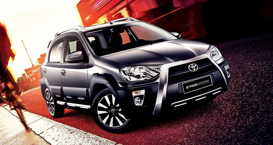 Toyota etios Cross South Africa press shot