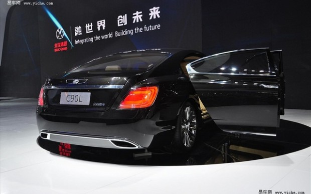 BAIC C90L sources inspiration from Bentley Continental GT