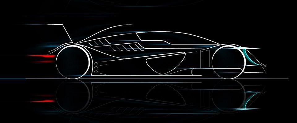 Caparo T1 Evolution sketch
