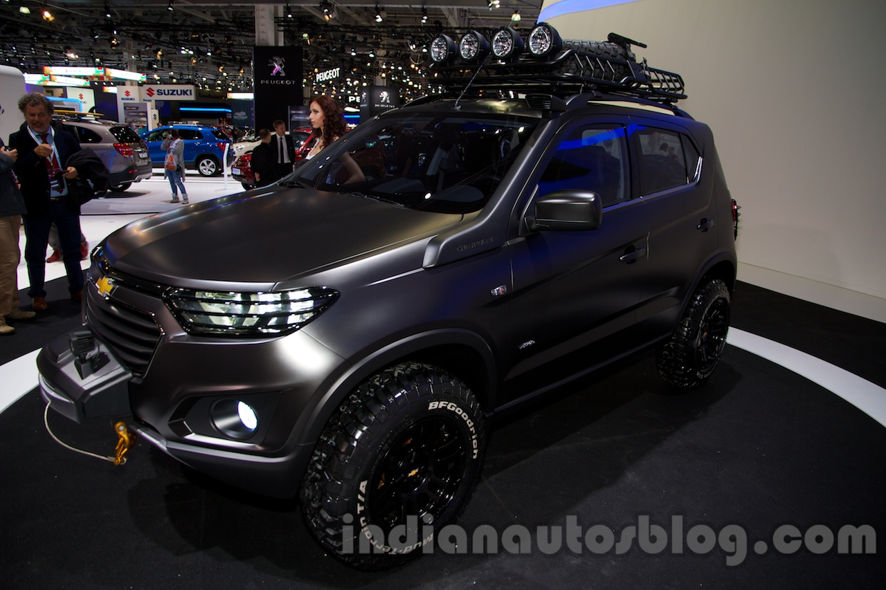 chevrolet niva concept - moscow live