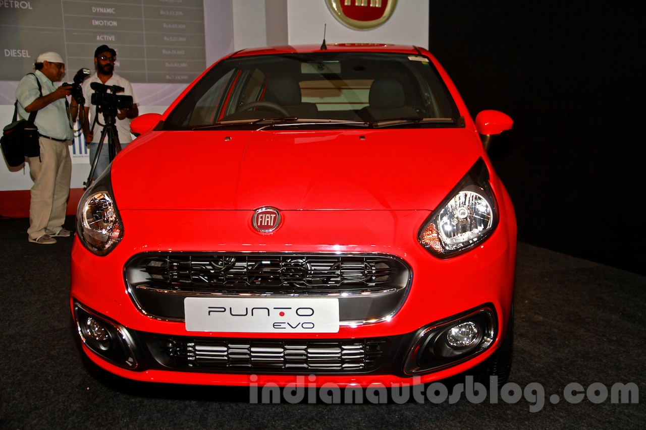 Fiat Punto Evo Prices Slashed By Up To Inr 47 365