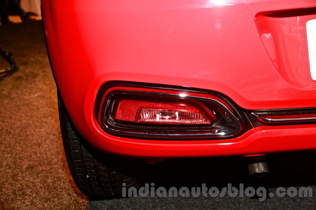 Fiat Punto Evo Rear Bumper At The Launch