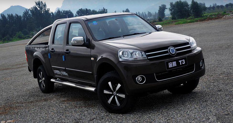 Hengtian T3 is a copy of VW Amarok