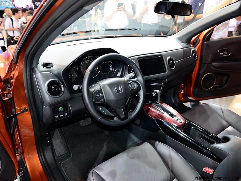 Honda XR-V dashboard at Chengdu Auto Show 2014