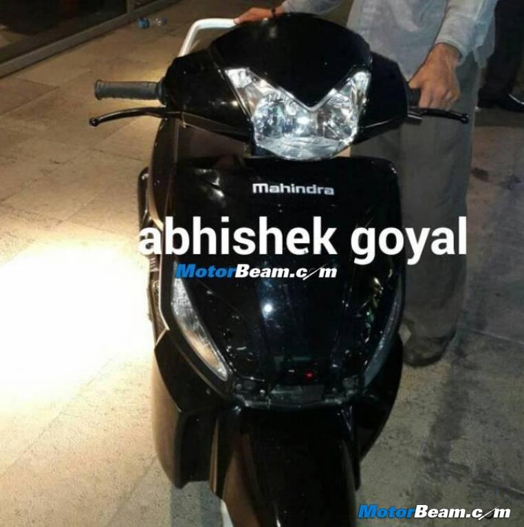 Mahindra G101 110 cc scooter