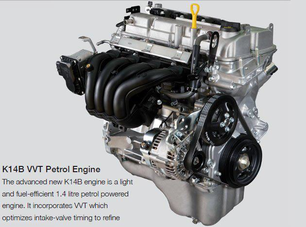Maruti-Ertiga-K14B-engine press shot