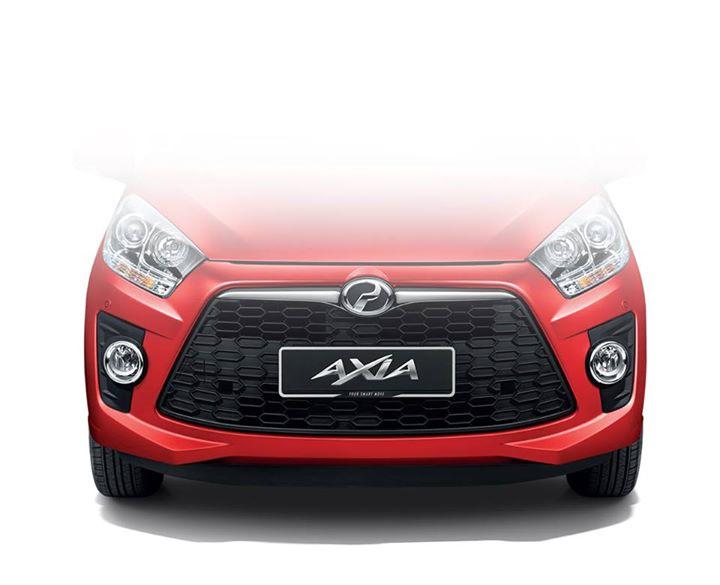 Perodua Axia Advance front bumper