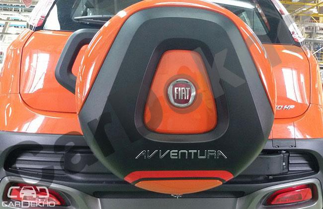 Production Fiat Avventura spied rear