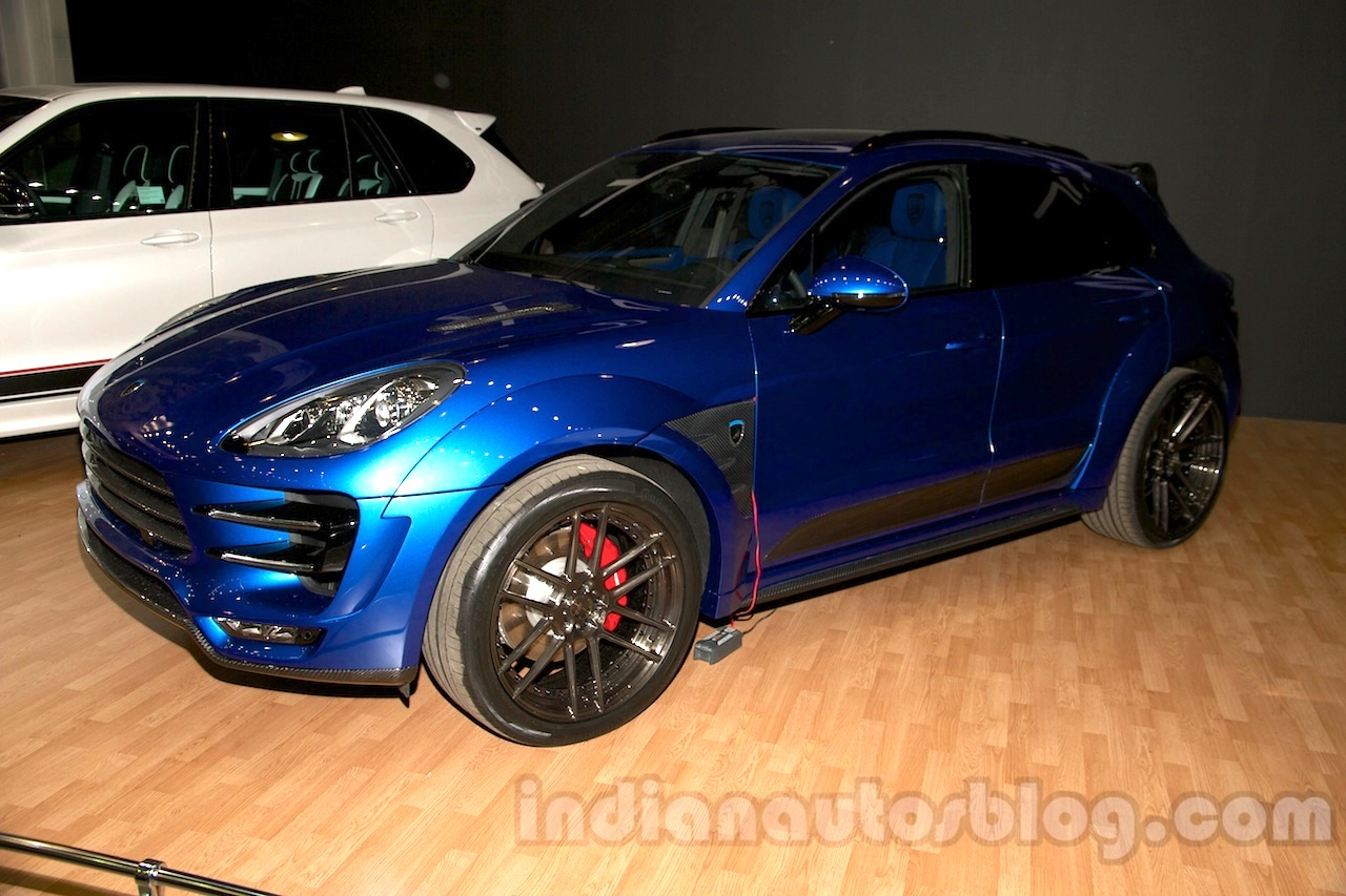 Top Car Porsche Macan Ursa at Moscow Motor Show 2014