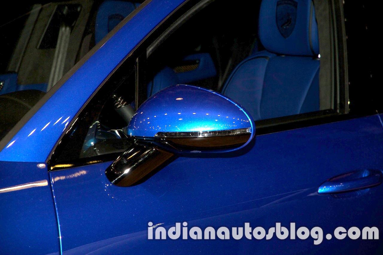 Top Car Porsche Macan Ursa mirror at Moscow Motor Show 2014