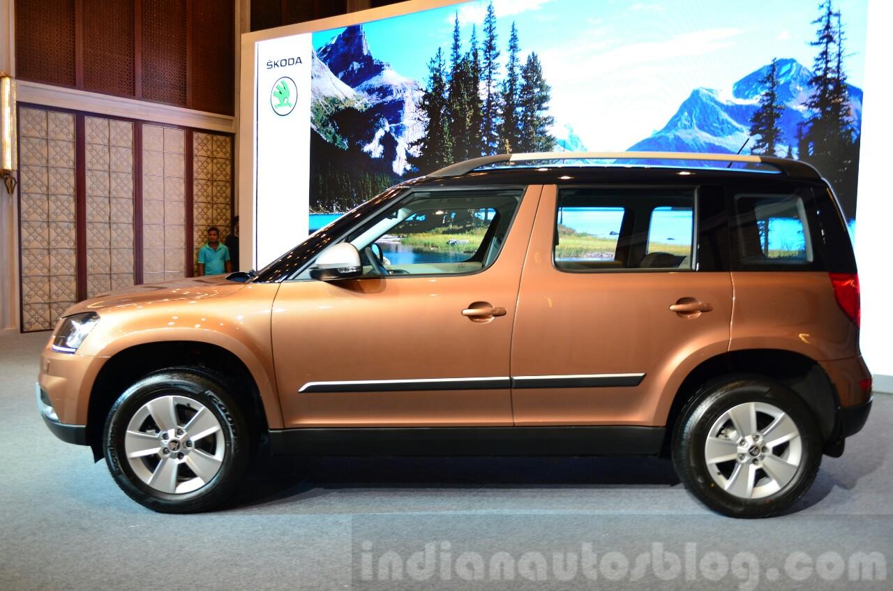 2014 Skoda Yeti facelift launch profile