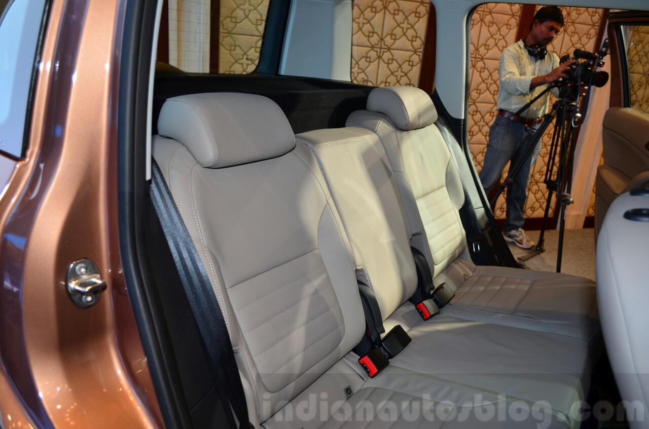 2014 Skoda Yeti facelift launch rear seat