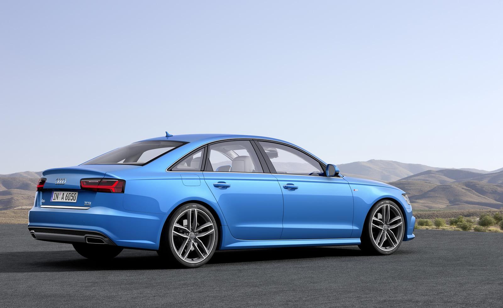 2015 Audi A6 facelift press shots side