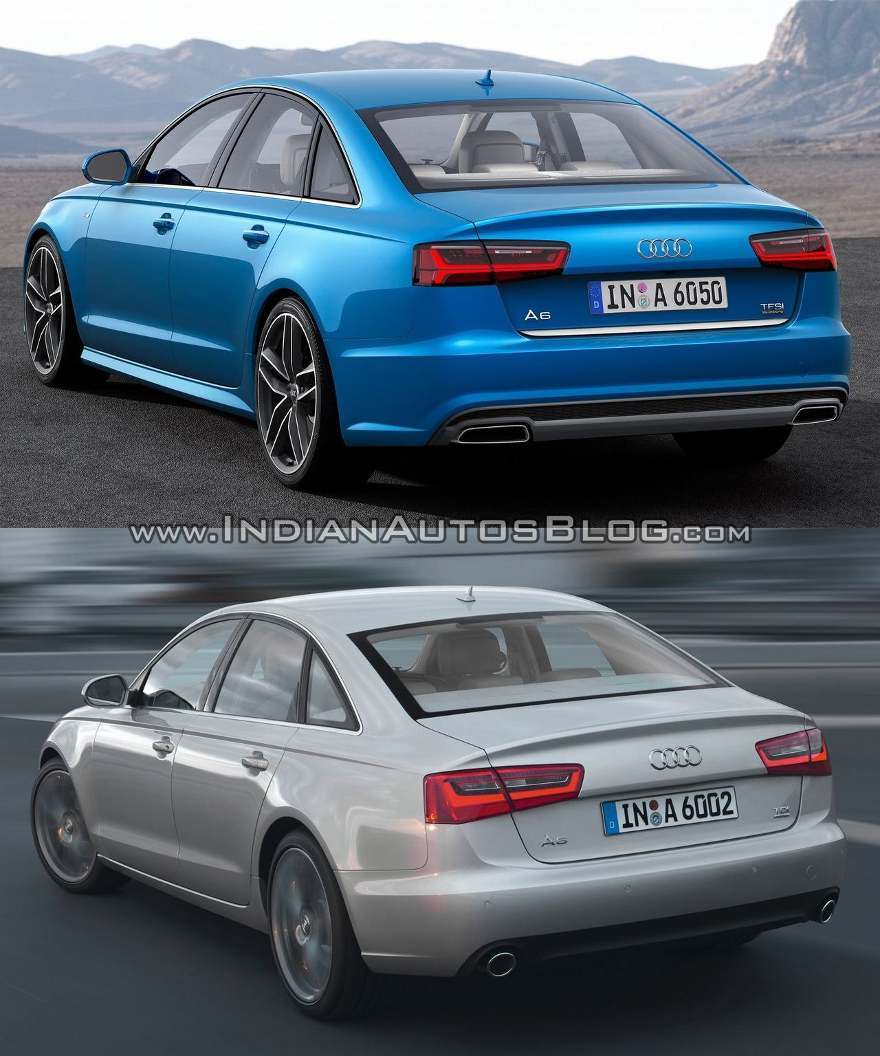 2015 Audi A6 Vs Pre-facelift Model