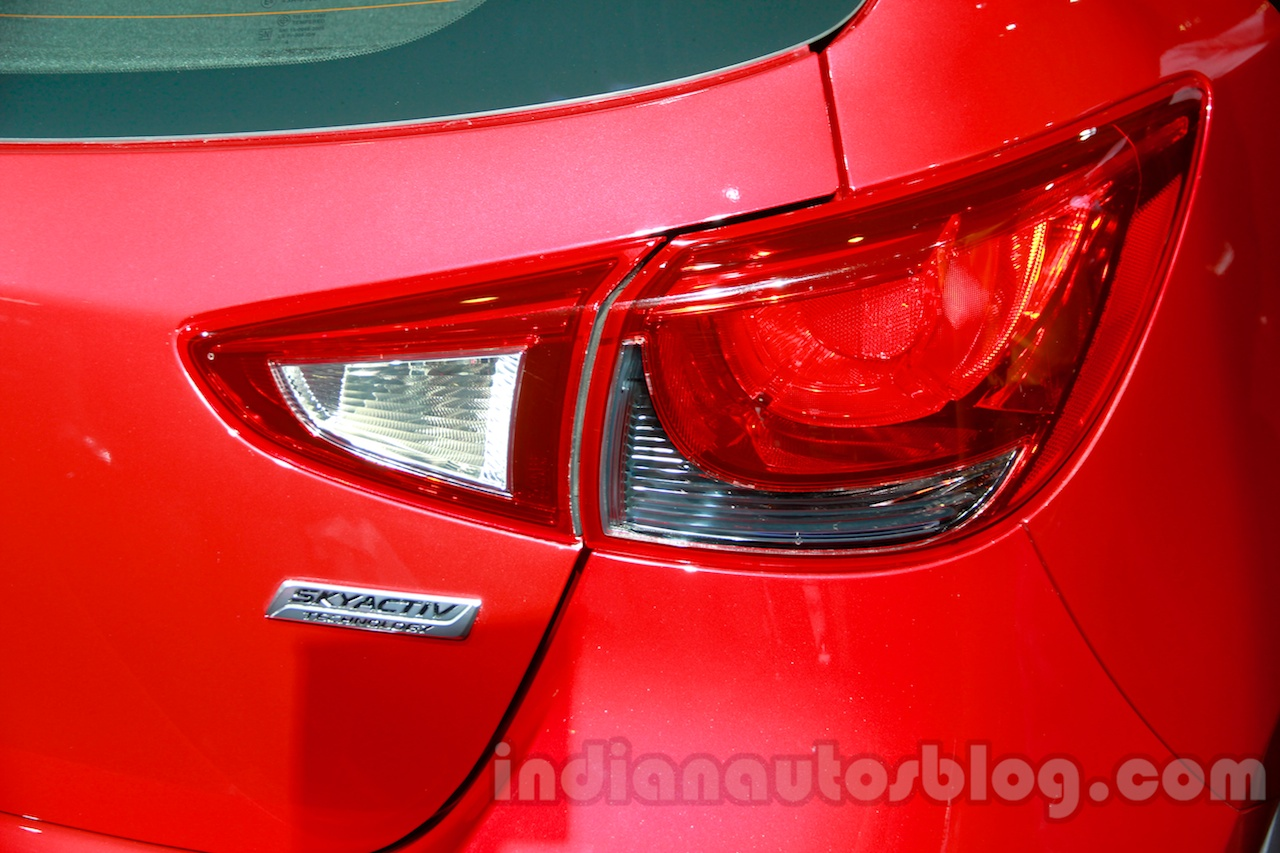 2015 Mazda2 at the 2014 Indonesia International Motor Show taillight