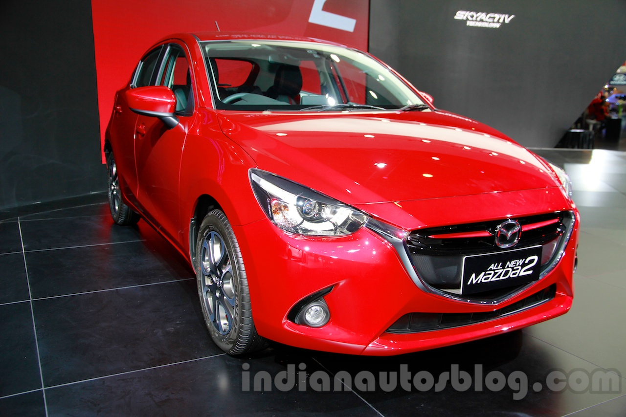 2015 Mazda2 at the 2014 Indonesia International Motor Show