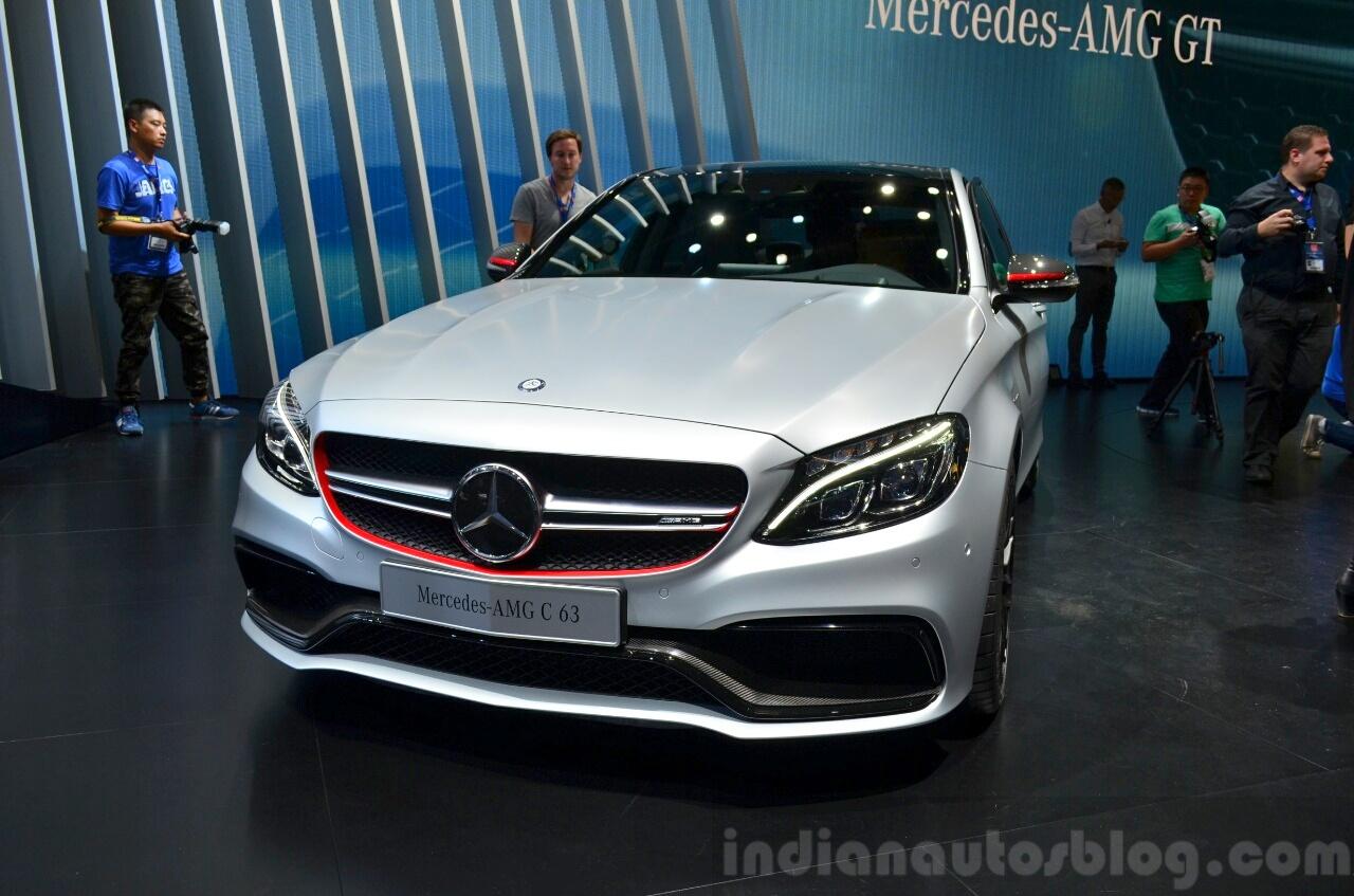 2015 Mercedes C 63 AMG at 2014 Paris Motor Show