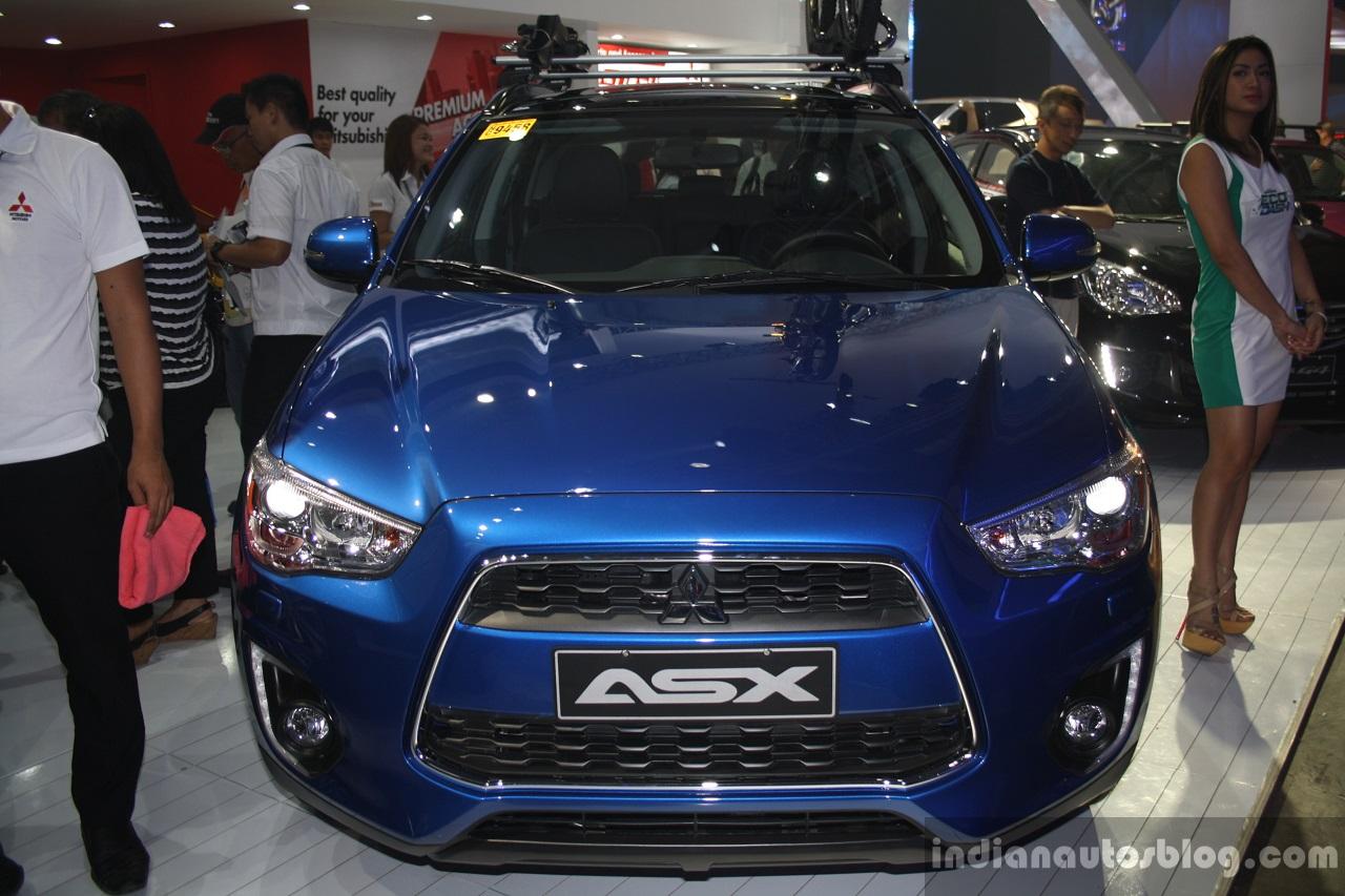 2015 Mitsubishi ASX front at the CAMPI 2014