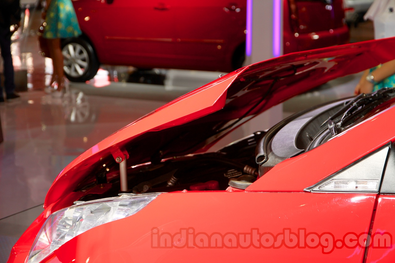 3-door Tata Vista Modified at the 2014 Indonesia International Motor Show hood