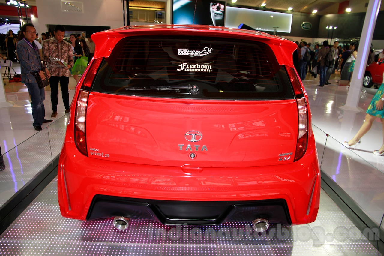 3-door Tata Vista Modified at the 2014 Indonesia International Motor Show rear