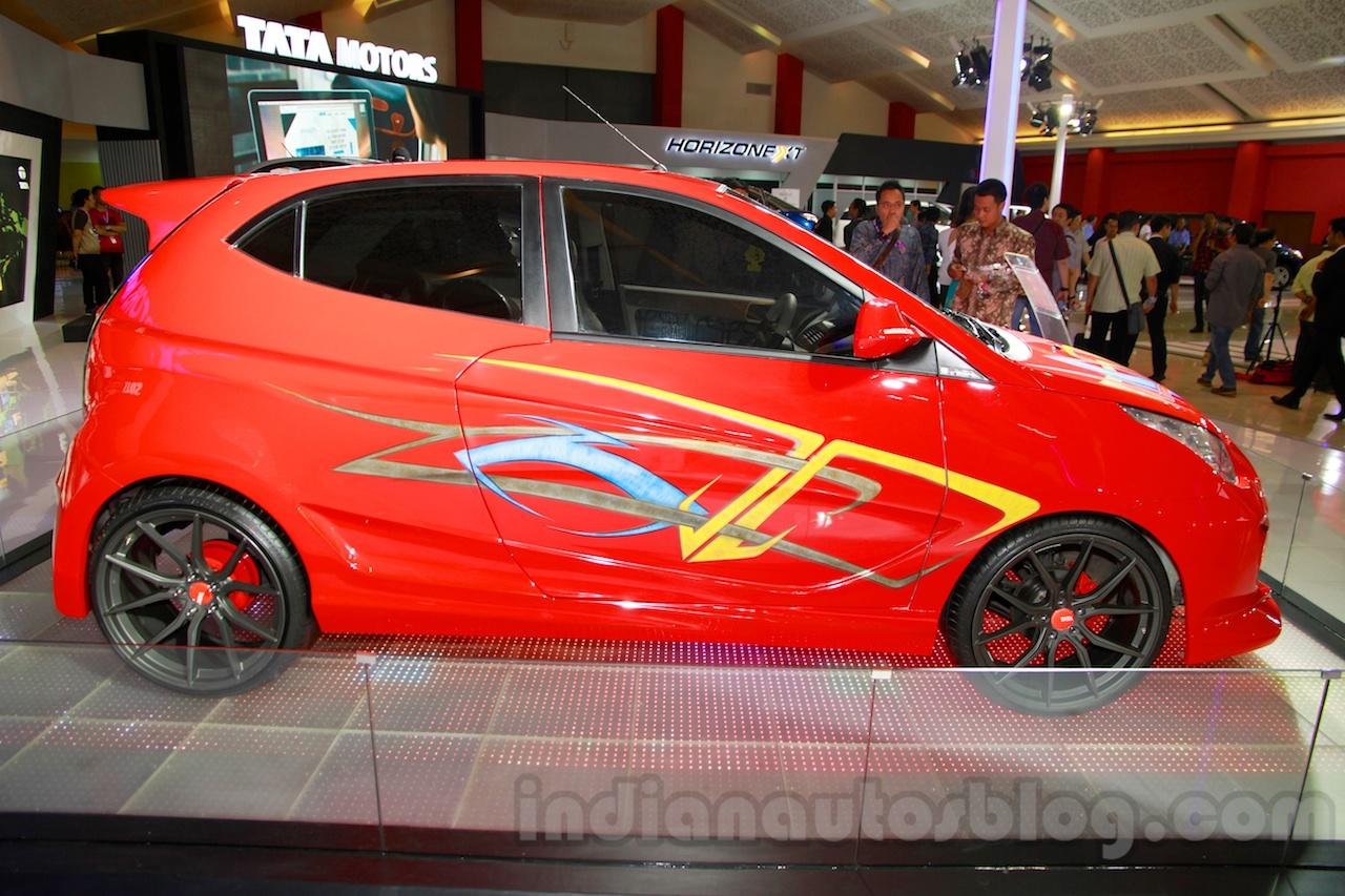 3-door Tata Vista Modified at the 2014 Indonesia International Motor Show side