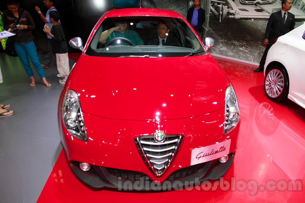 Alfa Romeo Giulietta front at the 2014 Indonesia International Motor Show