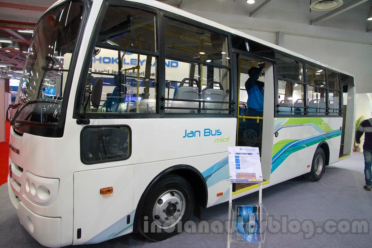 Ashok Leyland Jan Bus MiDi at the 2012 Bus & Utility Expo