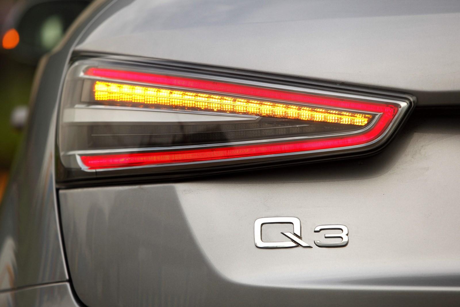 Audi Q3 Dynamic Clear Lens LED tail lamp