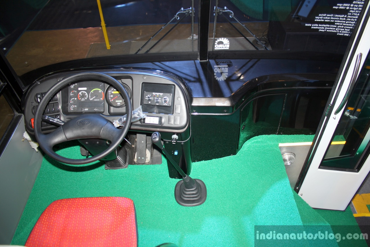 Daewoo Bus BF 106 Dashboard At The Philippines