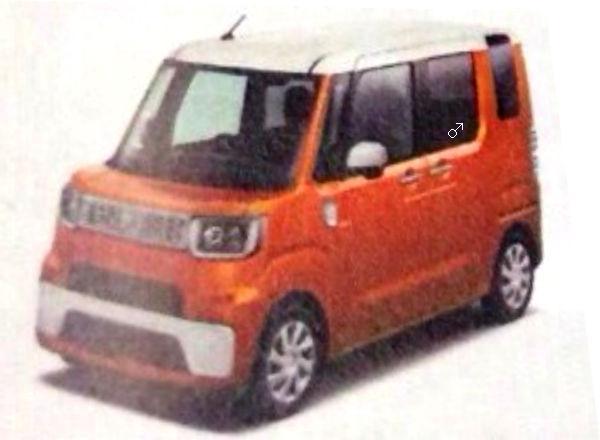 Daihatsu 1BOX front leak
