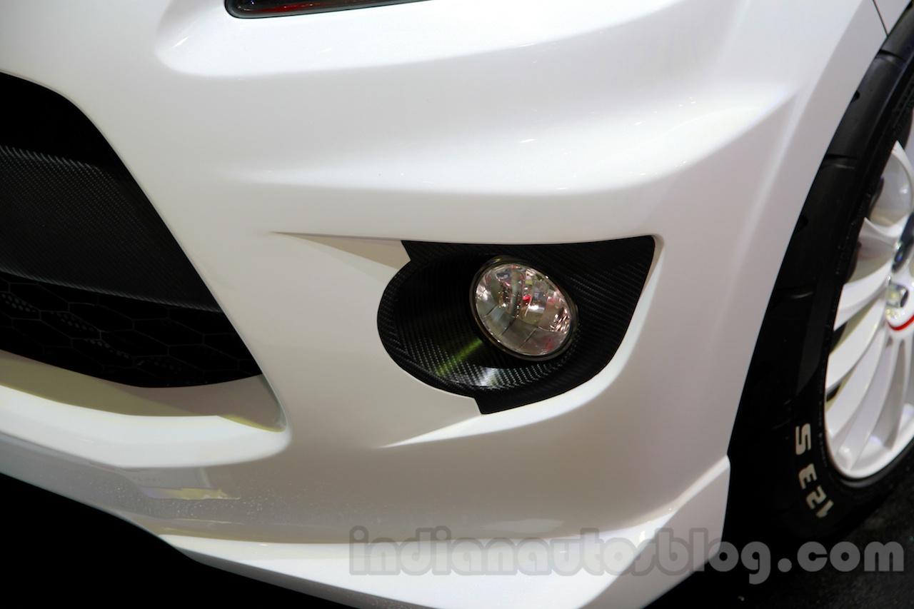 Daihatsu Ayla GT2 foglamp at the Indonesia International Motor Show 2014