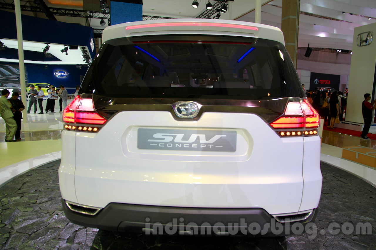 Daihatsu SUV Concept at the 2014 Indonesia International Motor Show rear