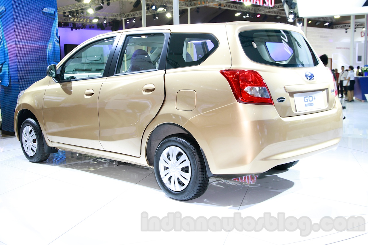 Datsun Go+ Panca at the 2014 Indonesia International Motor ...