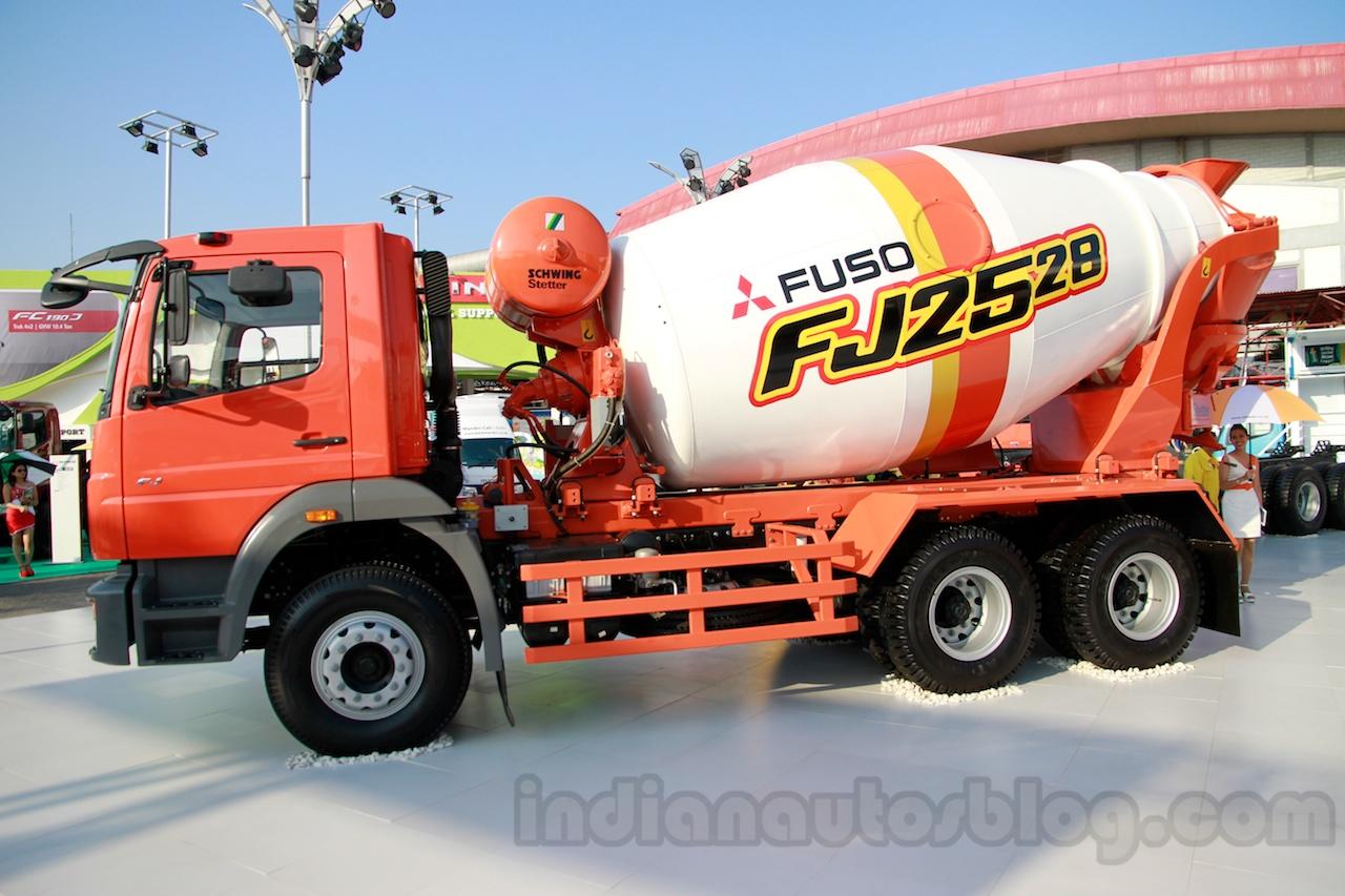 FUSO FJ 2528M 6×4 Heavy mixer at the Indonesia International Motor Show 2014