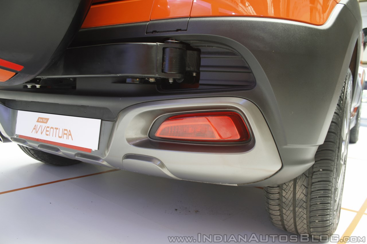 Fiat Avventura at Mumbai rear bumper