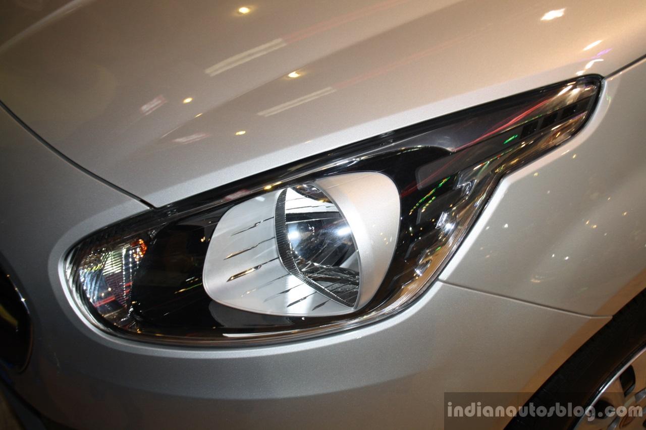Fiat Punto Evo headlamp at the 2014 Nepal Auto Show