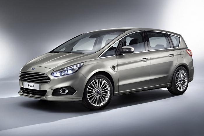 Ford S-Max production spec press shot