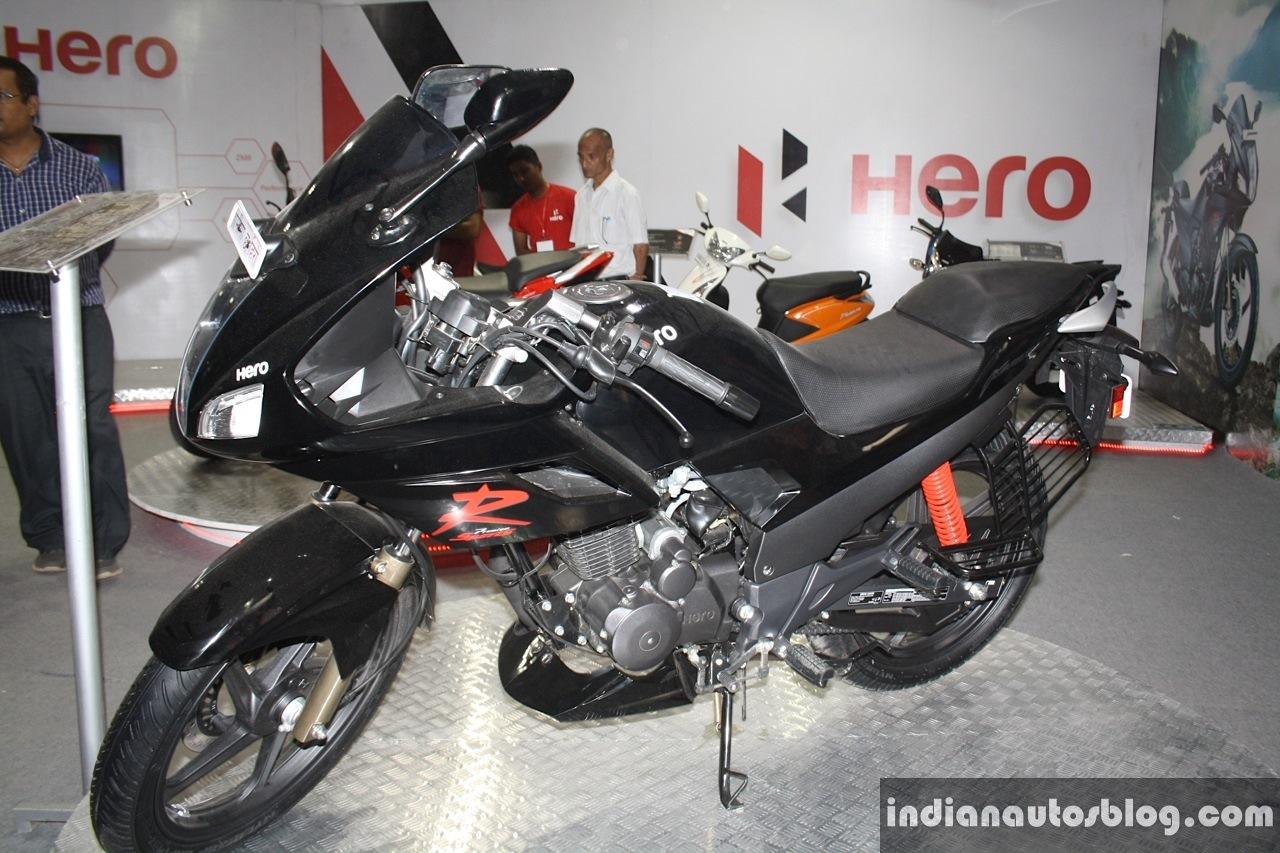 Nepal Live Hero Karizma R Zmr Xtreme Sports Honda Bike 2014 Front Three Quarter At The Auto Show