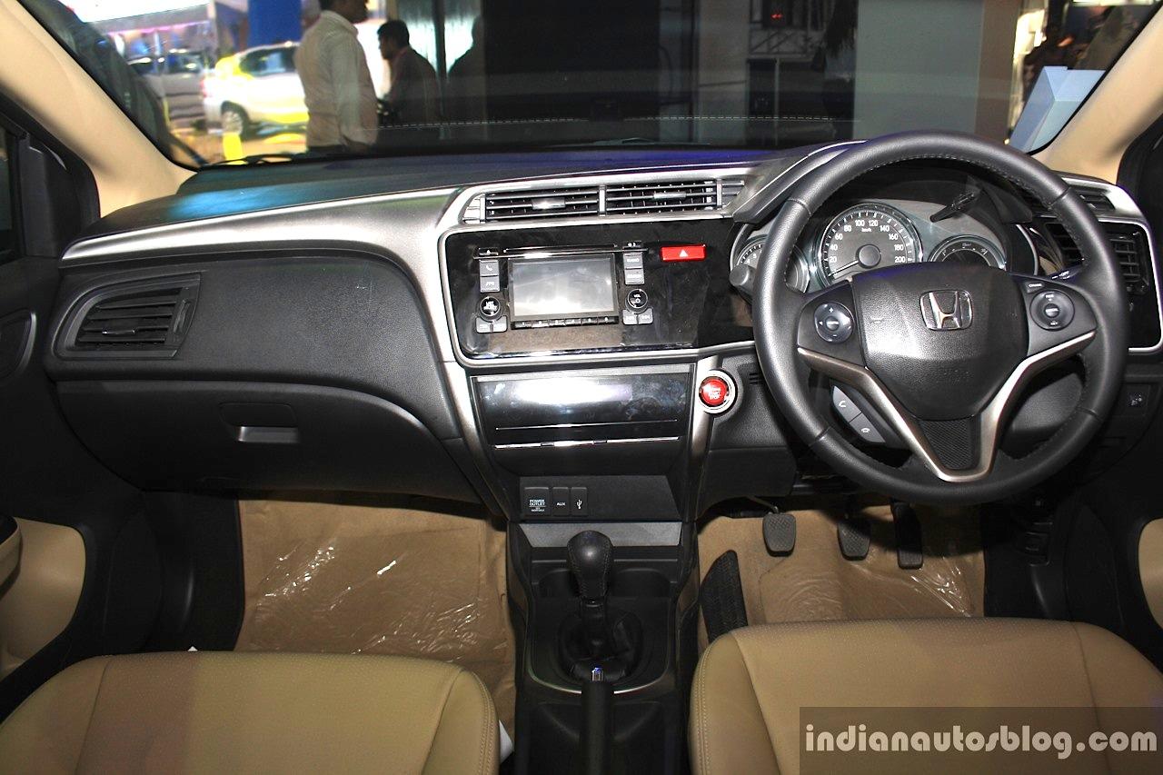 Honda City interior at the 2014 Nepal Auto Show